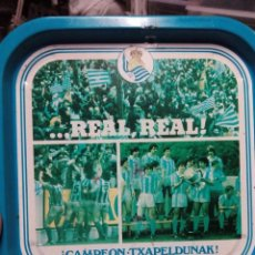 Coleccionismo deportivo: BANDEJA REAL SOCIEDAD. Lote 61268551