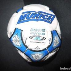 Coleccionismo deportivo: INCREIBLE BALON DE BUTBOL SALA AÑOS 80, MUNICH SIN USO DE TIENDA.. Lote 62188032