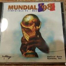 Coleccionismo deportivo: CD INTERACTIVO MUNDIAL FRANCIA 98. Lote 64162369