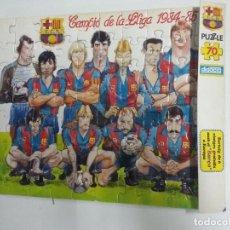 Coleccionismo deportivo: PUZZLE FC BARCELONA AÑO 84-85. Lote 64430407