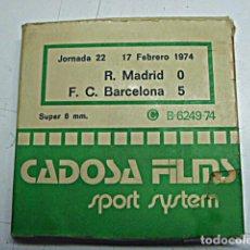 Coleccionismo deportivo: PELICULA S/8MM R. MADRID-F.C. BARCELONA. Lote 65243691