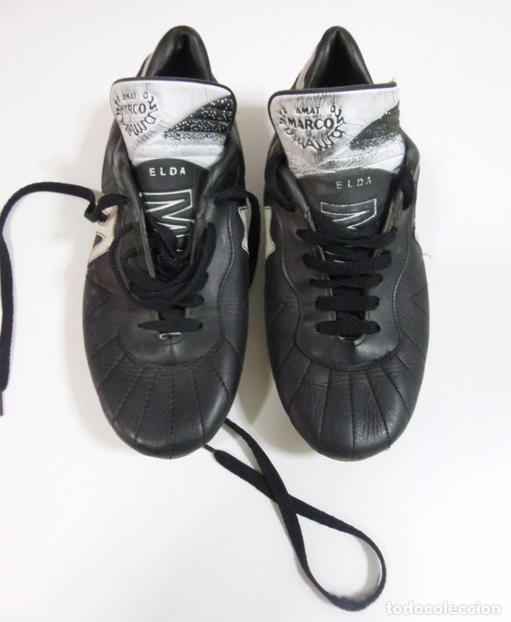 pareja de botas de futbol de la mítica firma am - Comprar Material ...