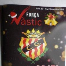 Coleccionismo deportivo: LIBRO PROGRAMA FUTBOL NASTIC TARRAGONA - DCBRE NUM-13 FOTOS,REPORTAJES,PUBLICIDAD ETC 60 PAG. Lote 71031221