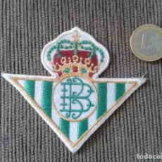 Collectionnisme sportif: ESCUDO OFICIAL DEL R. BETIS BALOMPIÉ -- DE LA TEMPORADA 96/97 --. Lote 75645339