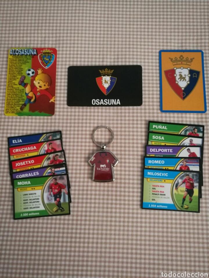 Futbol Calendario.Llavero Futbol Calendario Bolsillo Iman Fichas Liga 05 06 Osasuna De Pamplona