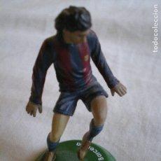 Coleccionismo deportivo: FIGURA LEO MESSI, F.C. BARCELONA FUTBOL MUÑECO FTCHAMPS. Lote 78341549