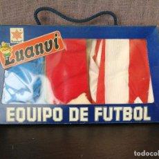 Coleccionismo deportivo: EQUIPACION ATLÉTICO DE MADRID AÑOS 80. Lote 194351515