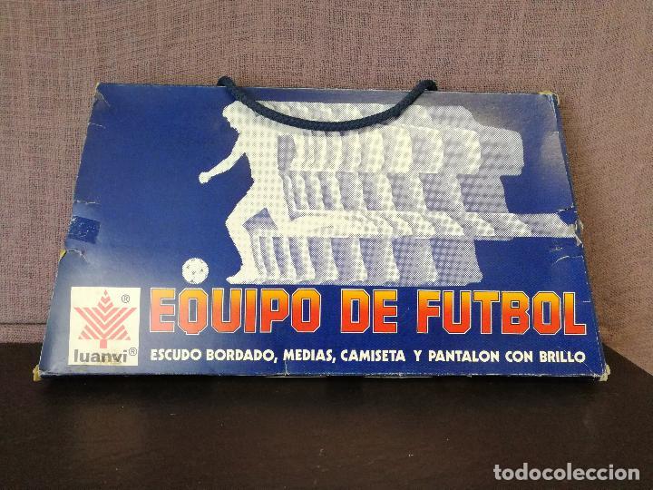 Coleccionismo deportivo: EQUIPACION ATLÉTICO DE MADRID AÑOS 80 - Foto 6 - 80205281