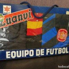 Coleccionismo deportivo: EQUIPACION SELECCIÓN ESPAÑOLA FÚTBOL AÑOS 80. Lote 80206017