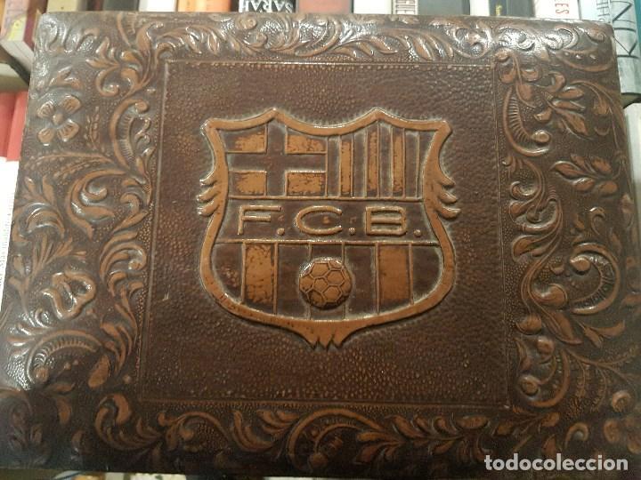 CAJA DE MÚSICA DEL F.C.BARCELONA. (Coleccionismo Deportivo - Material Deportivo - Fútbol)