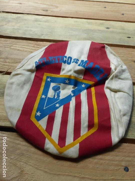 ATLÉTICO DE MADRID - ANTIGUA GORRA O VISERA DE HINCHA - ORIGINAL AÑOS 60 - FÚTBOL - (Coleccionismo Deportivo - Material Deportivo - Fútbol)