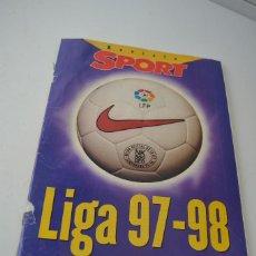 Coleccionismo deportivo: REVISTA SPORT LIGA 97.98. Lote 86490776