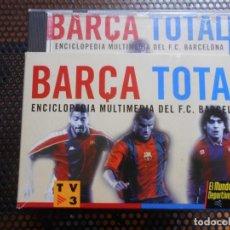 Coleccionismo deportivo: BARÇA TOTAL ENCICLOPEDIA MULTIMEDIA DEL FC BARCELONA -COMPLETA -. Lote 87233856
