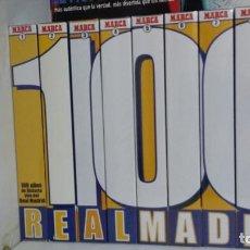 Coleccionismo deportivo: REAL MADRID COLECCION COMPLETA VHS NUEVOS 100 AÑOS. Lote 88021900