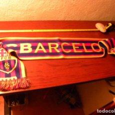 Coleccionismo deportivo: BUFANDA FC BARCELONA. Lote 88842072