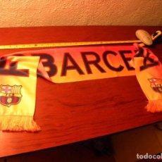 Coleccionismo deportivo: BUFANDA FC BARCELONA. Lote 88842164