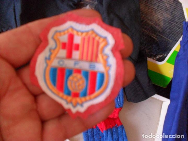Coleccionismo deportivo: traje futbol,barcelona,barsa?años 70,hecho en Mataro,niño portero? TALLA 00 NIÑO - Foto 2 - 90723610