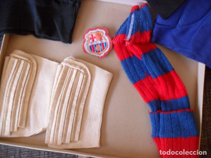 Coleccionismo deportivo: traje futbol,barcelona,barsa?años 70,hecho en Mataro,niño portero? TALLA 00 NIÑO - Foto 3 - 90723610