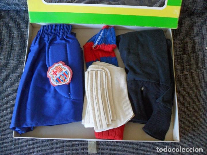 Coleccionismo deportivo: traje futbol,barcelona,barsa?años 70,hecho en Mataro,niño portero? TALLA 00 NIÑO - Foto 5 - 90723610