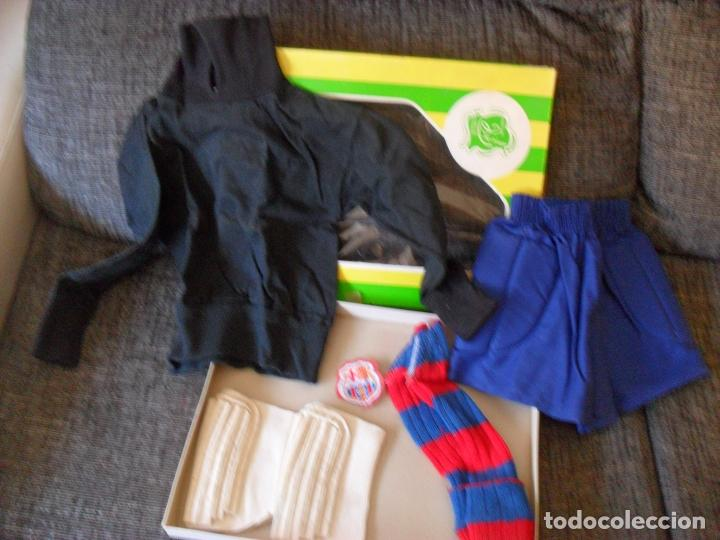 Coleccionismo deportivo: traje futbol,barcelona,barsa?años 70,hecho en Mataro,niño portero? TALLA 00 NIÑO - Foto 6 - 90723610