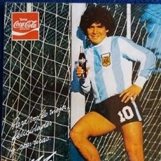 Coleccionismo deportivo: FOTOGRAFIA FOTODUPLICACION DIEGO ARMANDO MARADONA AÑO 1979 COCA COLA. Lote 100909279