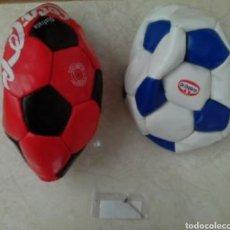 Coleccionismo deportivo: BALONES PROMOCIONALES COCA COLA-DR OETKER. Lote 101332522