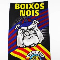Coleccionismo deportivo: BRAGA CUELLO BUFF BOIXOS NOIS F.C.BARCELONA BARÇA 43,00 X 24,50 CM FC. Lote 101759291