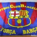 Coleccionismo deportivo: BANDERA OFICIAL DRAPS CENTER SENSE FRONTERES F.C.BARCELONA BARÇA 65 X 94 CM FC. Lote 101760035