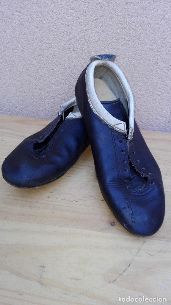 antiguas botas de fútbol marca marco de piel y - Comprar Material de ...