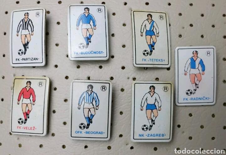 PINS EQUIPOS FUTBOL ANTIGUA YUGOSLAVIA (Coleccionismo Deportivo - Material Deportivo - Fútbol)
