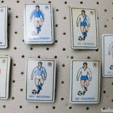 Coleccionismo deportivo: PINS EQUIPOS FUTBOL ANTIGUA YUGOSLAVIA. Lote 104119442