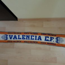 Coleccionismo deportivo: ANTIGUA BUFANDA VIXCA TIPO LANA VALENCIA CF RARA. Lote 109599314