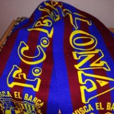 Coleccionismo deportivo: BUFANDA FÚTBOL CLUB BARCELONA. Lote 110079404