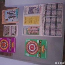 Coleccionismo deportivo: LOTE DE CALENDARIOS DE LIGA. Lote 110106811