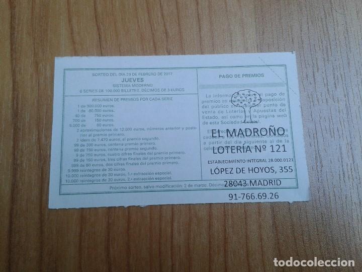 Coleccionismo deportivo: Lugo -- Décimos de Lotería Nacional -- Serie equipos de fútbol - Foto 2 - 110359851