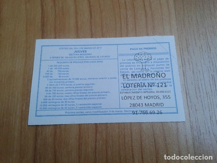 Coleccionismo deportivo: Osasuna -- Décimos de Lotería Nacional -- Serie equipos de fútbol - Foto 2 - 110363491