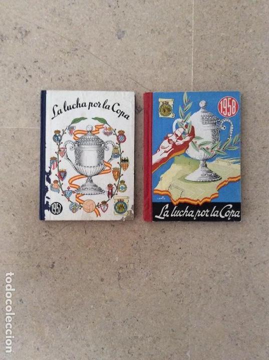 Coleccionismo deportivo: Libros copa del rey de fútbol de España años 1957 y 1958 - Foto 2 - 110538939