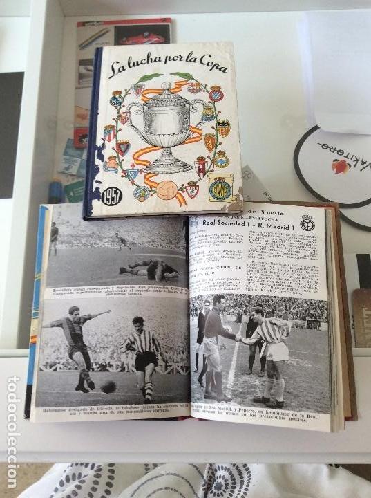 LIBROS COPA DEL REY DE FÚTBOL DE ESPAÑA AÑOS 1957 Y 1958 (Coleccionismo Deportivo - Material Deportivo - Fútbol)