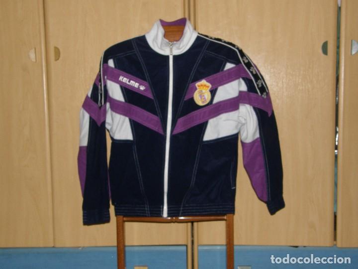200befe5aa69b CHAQUETA CHANDAL OFICIAL REAL MADRID - TEMPORADA 94 -95 - TALLA XS -  PERFECTO ESTADO