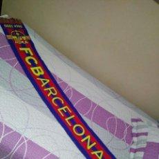 Coleccionismo deportivo: BUFANDA DEL FUTBOL CLUB BARCELONA . Lote 112402927
