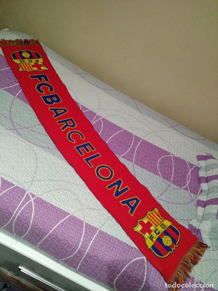 BUFANDA DEL FUTBOL CLUB BARCELONA (Coleccionismo Deportivo - Material Deportivo - Fútbol)