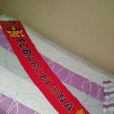 Coleccionismo deportivo: BUFANDA DEL FUTBOL CLUB BARCELONA . Lote 112403167
