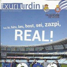 Coleccionismo deportivo: PROGRAMA REAL SOCIEDAD-ESPANYOL 14-15 ANOETA. Lote 112683023