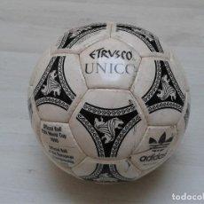 Coleccionismo deportivo: ANTIGUO BALÓN ADIDAS ESTRUSCO UNICO. Lote 115472795
