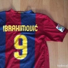 Coleccionismo deportivo: CAMISETA DE FUTBOL FC BARCELONA , IBRAHIMOVIC ,. Lote 115596887