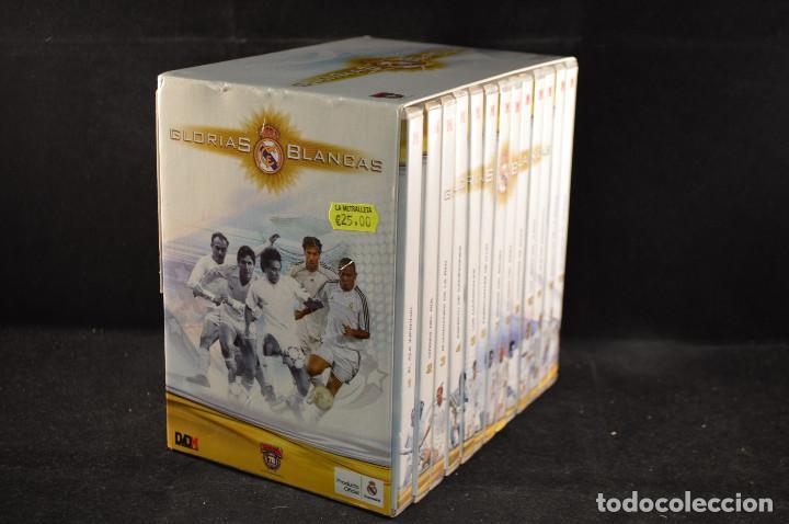 GLORIAS BLANCAS - REAL MADRIS - 13 DVD COLECCION MARCA (Coleccionismo Deportivo - Material Deportivo - Fútbol)