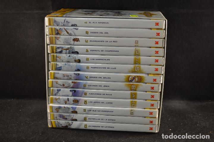 Coleccionismo deportivo: GLORIAS BLANCAS - REAL MADRIS - 13 DVD COLECCION MARCA - Foto 2 - 115731931