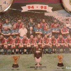 Coleccionismo deportivo: CUADRO FCB DREAM TEAM. Lote 116596419