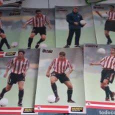 Coleccionismo deportivo: LOTE FOTOS CARTON ATHLETIC AÑOS 90. Lote 118287152