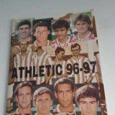 Coleccionismo deportivo: LOTE FOTOS FIRMADAS JUGADORES ATHLETIC TEMP 1996-97. Lote 118288314